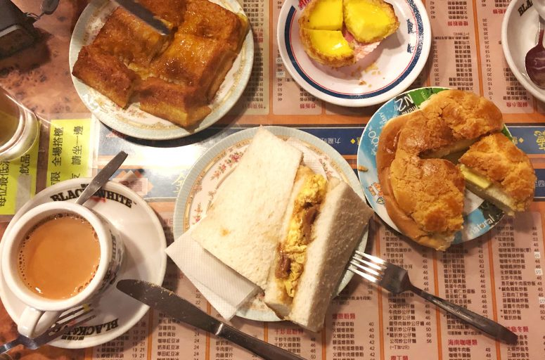 kam wah cafe bakery 金華冰廳 mong kok prince edward pineapple bun french toast 西多士 菠蘿油