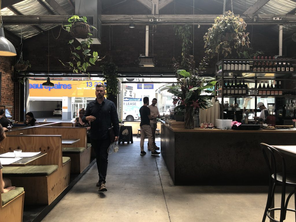 Hobba Cafe Prahan Melbourne brunch must eat wanderingwithyan interior